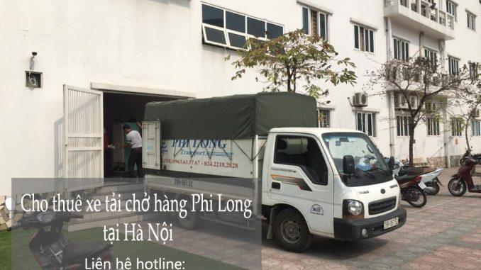 Dịch vụ thuê xe tải Phi Long tại xã Hồng Phong
