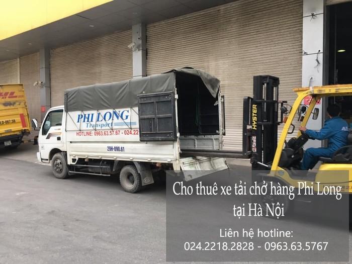 Dịch vụ xe tải chở hàng Phi Long phố Thể Giao