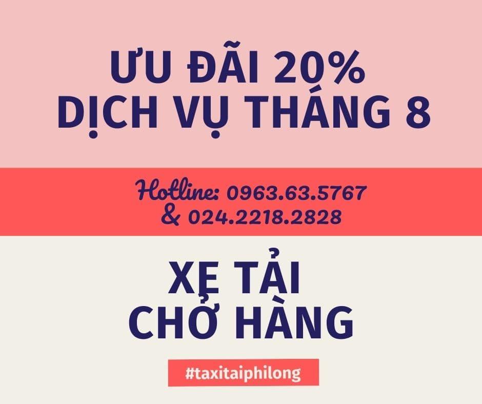 Dịch vụ cho thuê xe tải giá rẻ Phi Long tại xã Đại Thắng