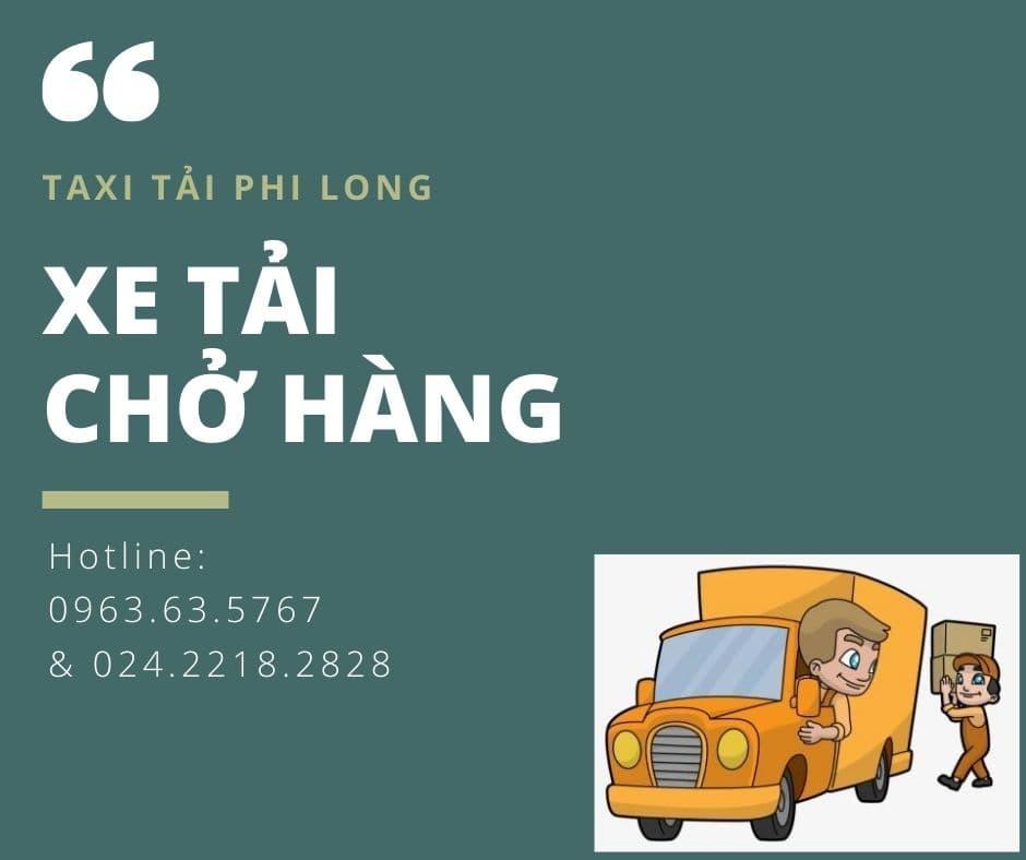 Dịch vụ taxi tải Phi Long tại xã Thư Phú