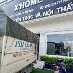 Cho thuê xe tải giá rẻ Phi Long phố Hàng Chuối