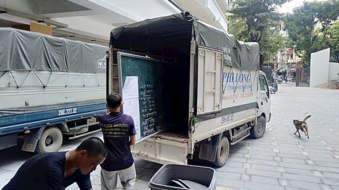 Thuê xe tải chất lượng cao Phi Long phố Bạch Mai