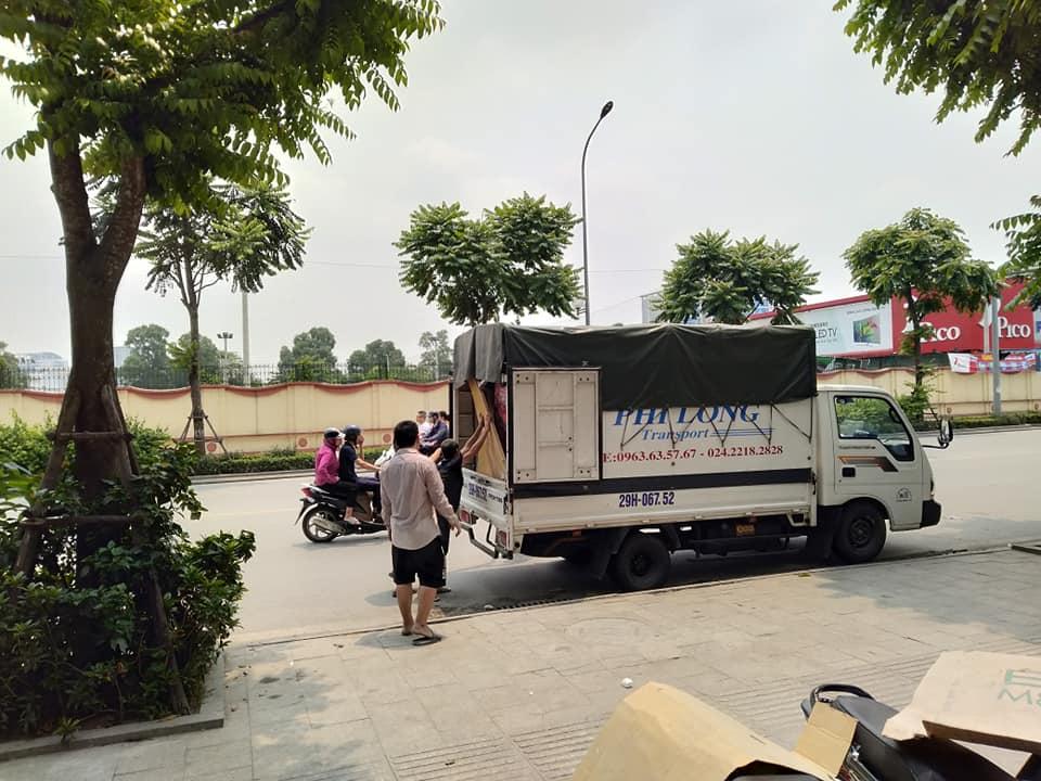 Dịch vụ cho thuê xe tải tại xã Thụy Phú