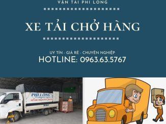 Dịch vụ cho thuê xe tải Phi Long tại xã Quang Lãng