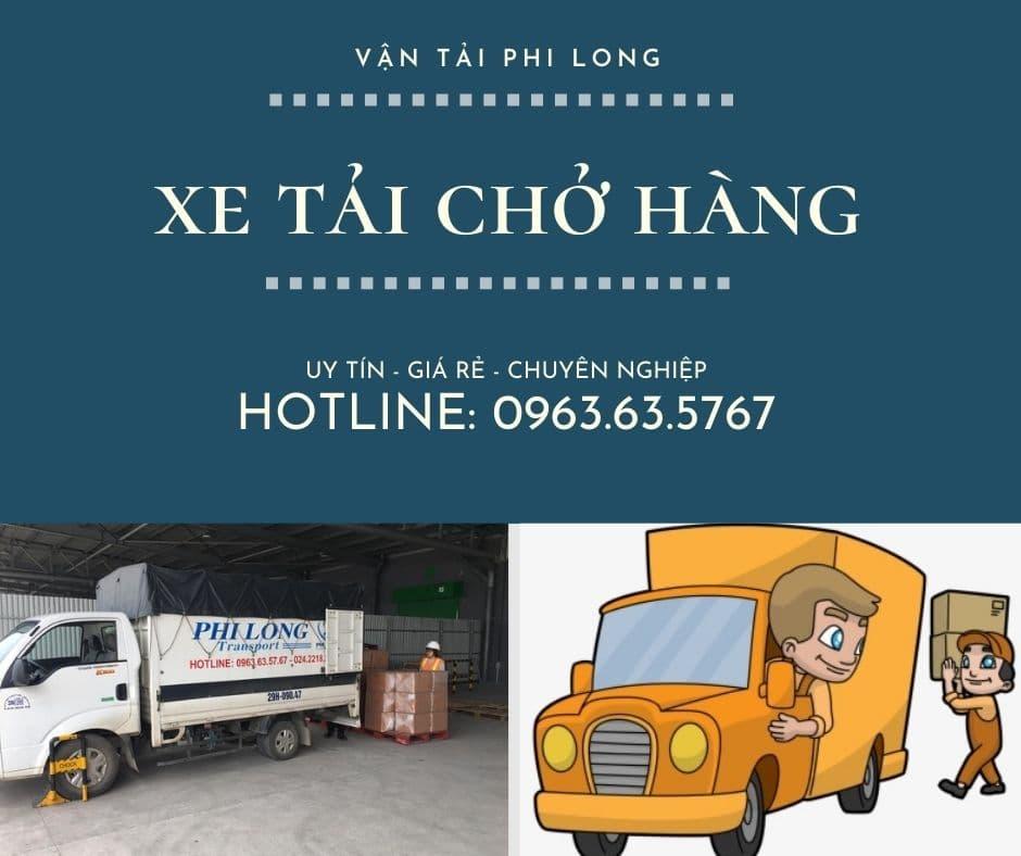 Dịch vụ cho thuê xe tải Phi Long tại xã  Văn Hoàng