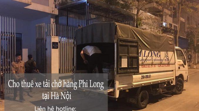 Dịch vụ thuê xe tải giá rẻ Phi Long tại phố Trần Bình