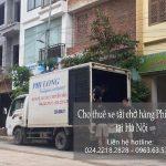 Dịch vụ taxi tải Phi Long tại phố Vân Đồn