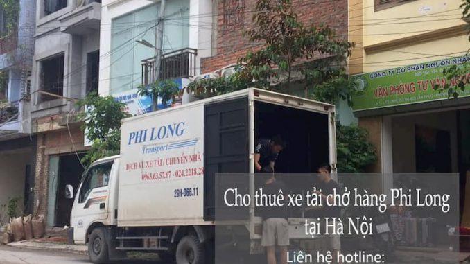 Dịch vụ cho thuê xe tải Phi Long tại đường Triều Khúc