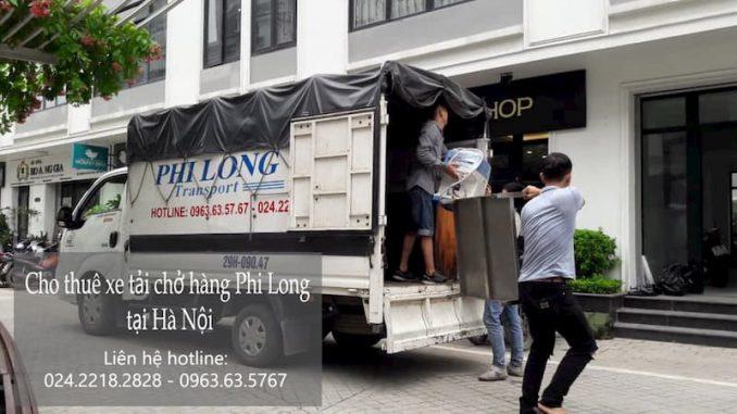 Dịch vụ cho thuê xe tải Phi Long tại phố Nguyễn Khoái