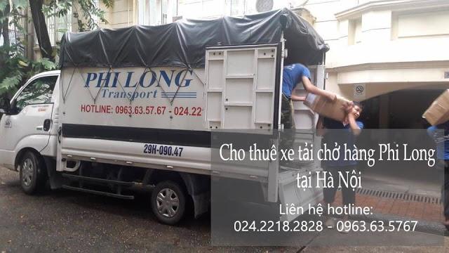 Dịch vụ cho thuê xe tải giá rẻ tại đường Nhân Hòa