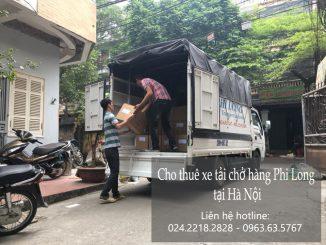 Dịch vụ cho thuê xe tải giá rẻ tại đường Trịnh Văn Bô