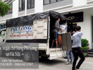 Dịch vụ cho thuê xe tải Phi Long tại đường dương văn béa