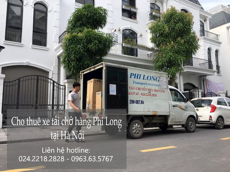 Dịch vụ thuê xe tải giá rẻ tại đường hồng hà