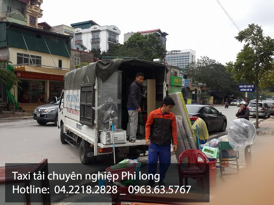 Dịch vụ thuê xe tải Phi Long tại đường cầu bây