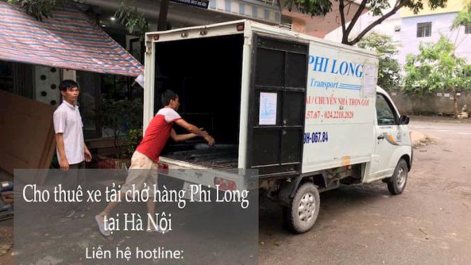 Dịch vụ thuê xe tải giá rẻ Phi Long tại đường Cửu Việt 2
