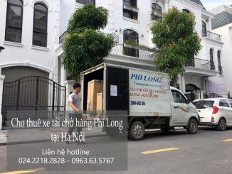 Dịch vụ thuê xe tải Phi Long tại đường Tư Đình