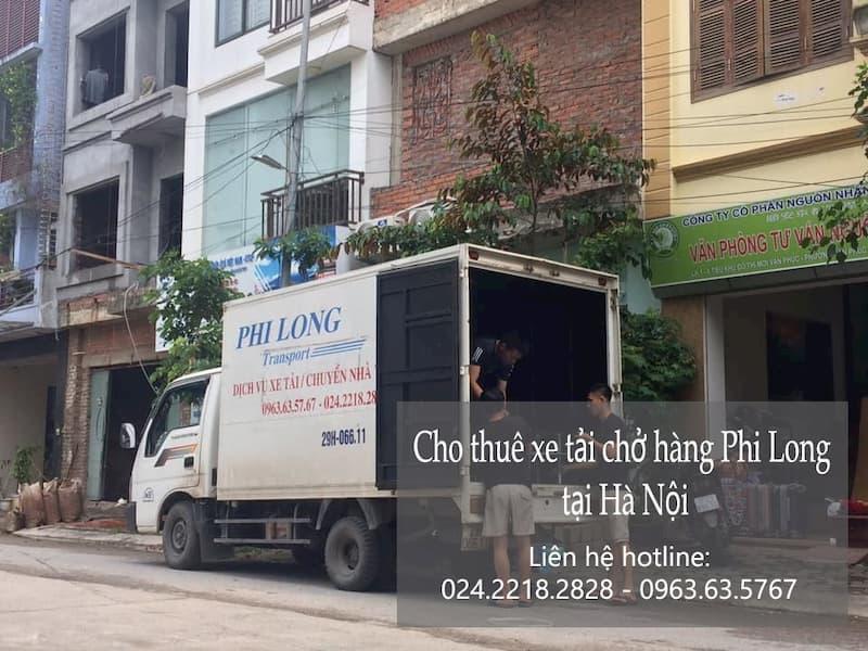 Dịch vụ cho thuê xe tải giá rẻ tại đường hoa lâm