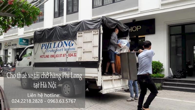 Dịch vụ thuê xe tải Phi Long tại đường đinh đức thiện