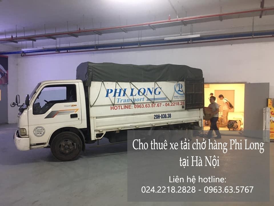 Dịch vụ cho thuê xe tải Phi Long tại đường hoàng như tiếp