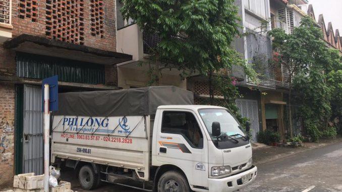 Hãng cho thuê xe tải Phi Long phố Tràng Tiền