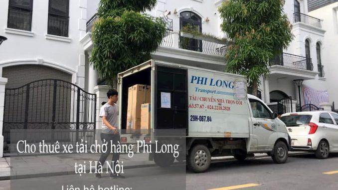 Dịch vụ cho thuê xe tải Phi Long tại quận Bắc Từ Liêm