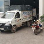 dịch vụ taxi tải tại hà nội Phi Long tại đường hồng hà