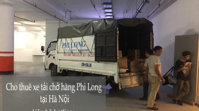Dịch vụ thuê xe tải Phi Long tại đường Vạn Hạnh