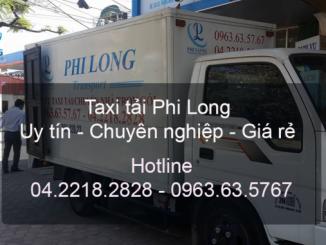 Dịch vụ thuê xe tải giá rẻ Phi Long tại đường Lĩnh Nam