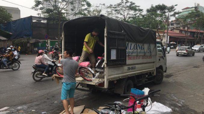 Thuê xe tải chở hàng giá rẻ Hà Nội đi Lai Châu
