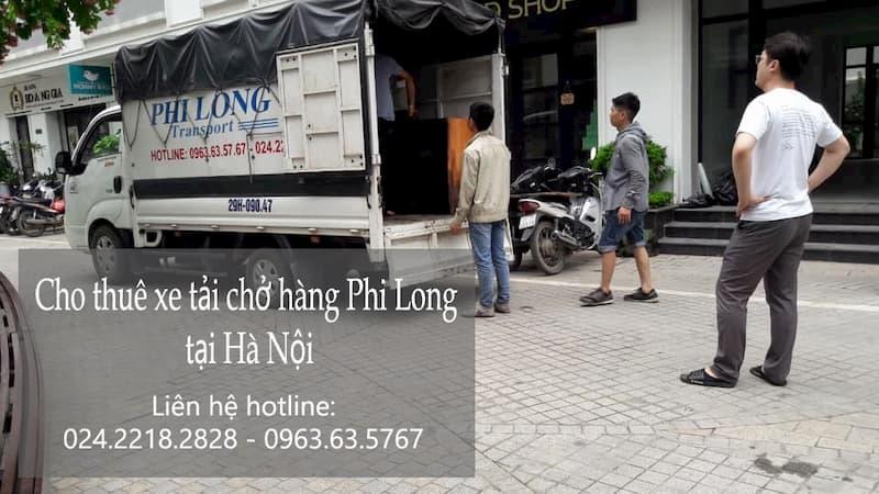 xe tải 500kg vận chuyển từ phố Hàng Than đi Hải Dương