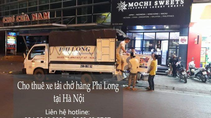 Dịch vụ taxi tải Phi Long tại đường Thúy Lĩnh đi Hải Phòng