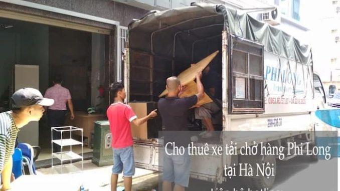 Thuê xe tải giá rẻ phố Chân Cầm đi Hòa Bình