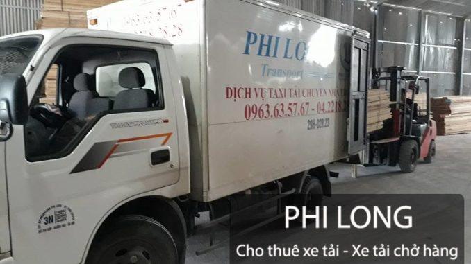 Dịch vụ cho thuê xe tải tại phố Việt Hưng đi Ninh Bình