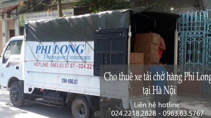 Thuê xe tải giá rẻ tại phố Lệ Mật đi Ninh Bình