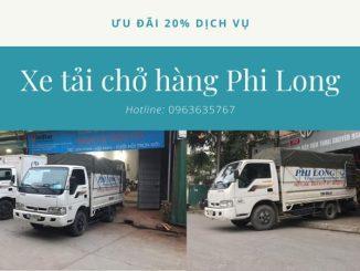 Thuê xe tải giá rẻ phố Cao Thắng đi Hòa Bình