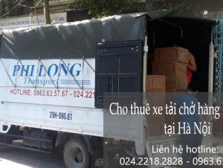 Thuê xe tải giá rẻ tại đường Ngọc Thuỵ đi Tuyên Quang
