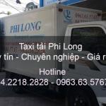 Thuê xe tải giá rẻ tại đường Nguyễn Xiển đi Cao Bằng