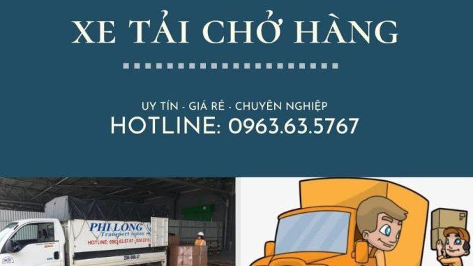 Thuê xe tải giá rẻ tại đường Hàm Nghi đi Hải Phòng